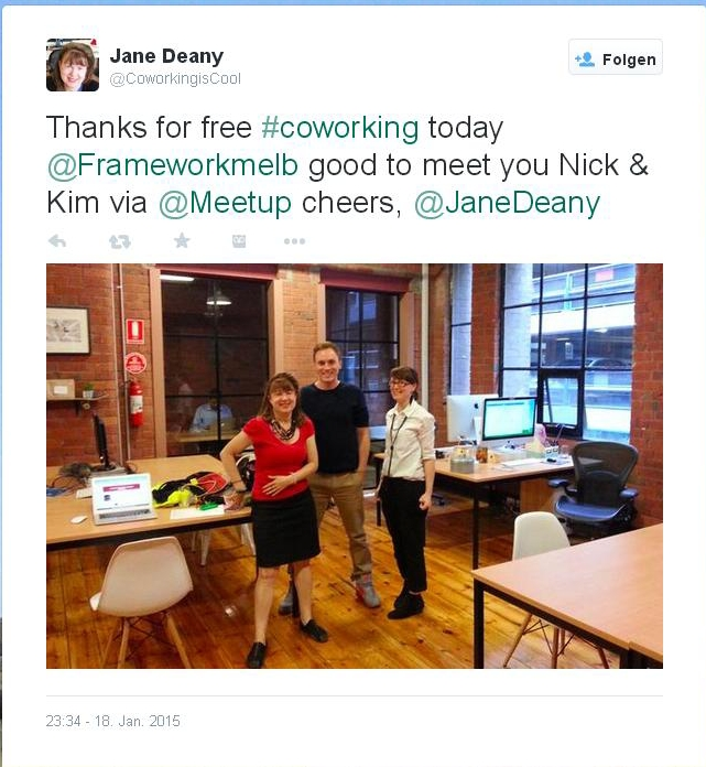 Free Coworking Challenge Jane Deany